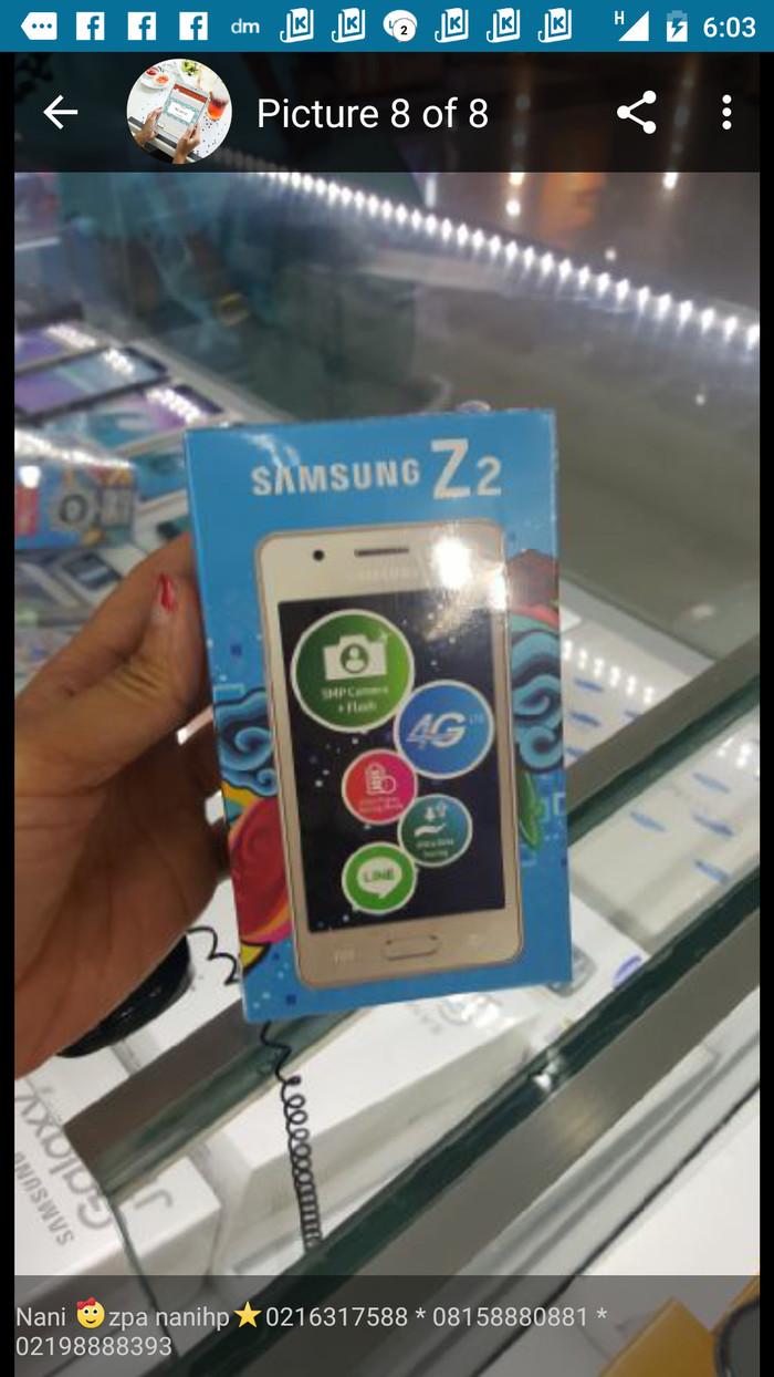 Samsung z2 garansi 1 thn