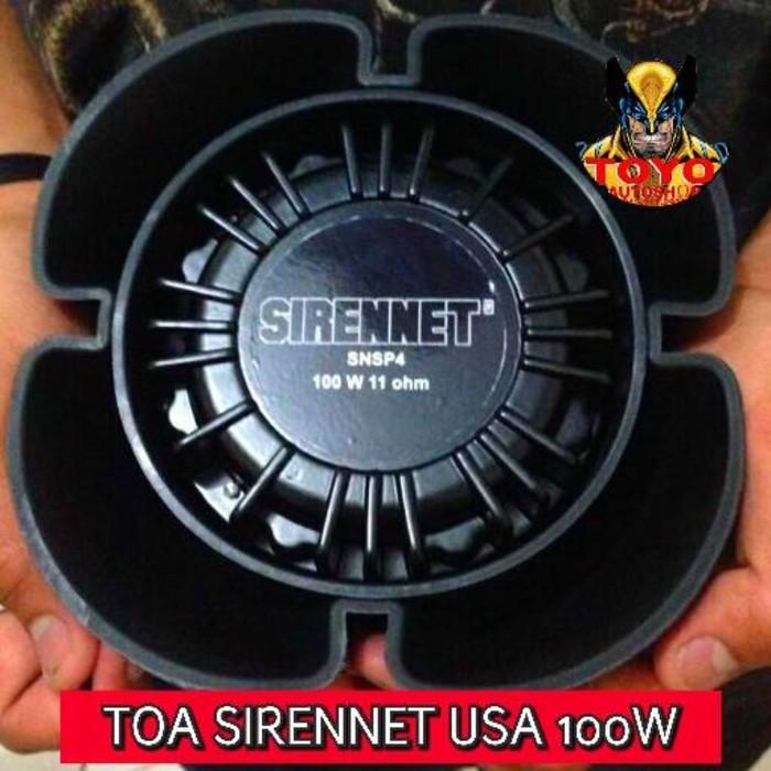 harga New arrival toa/speaker sirennet snsp4 100 usa whelen sound Tokopedia.com