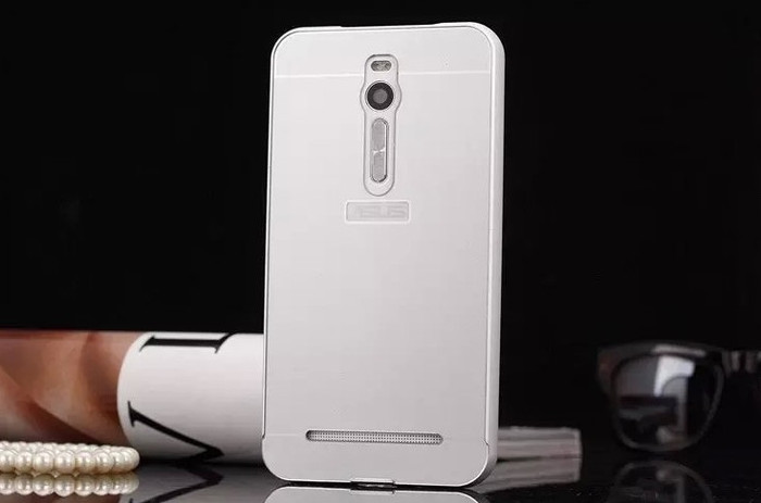 harga Zenfone 2 5.5 inch  case free tempered glass alumunium bumper casing Tokopedia.com