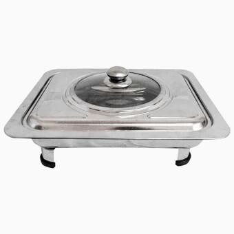 tempat makan prasmanan 555 SA warna silver