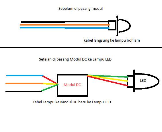 Jual modul dc converter ac to dc motor maju abadi for Convert ac motor to dc