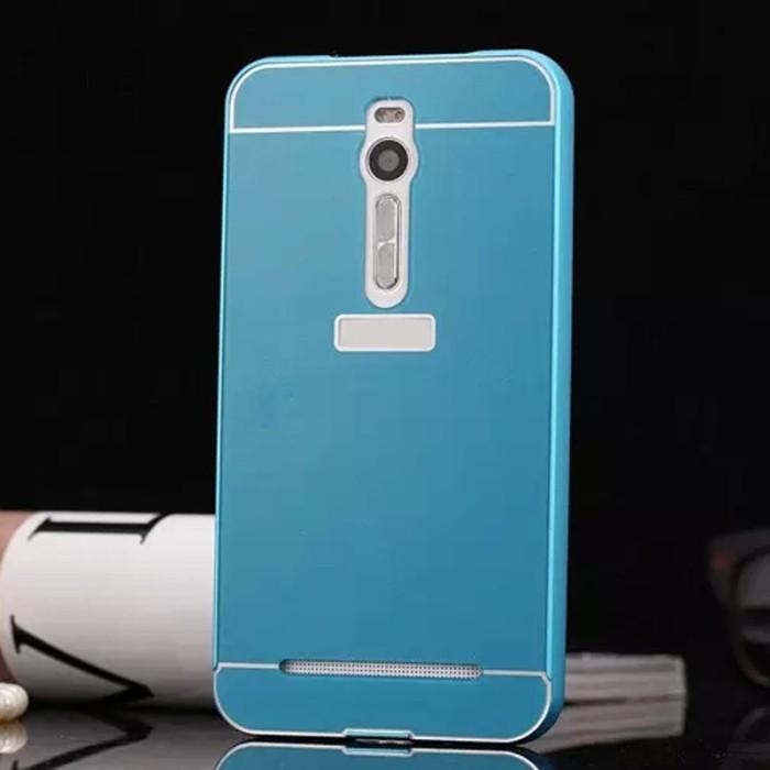 harga Free tempered glass alumunium bumper case casing zenfone 2 5.5 inch Tokopedia.com
