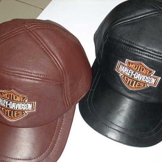 Jk Collection Topi Kulit Tp 001 Brown Daftar Harga Terkini dan Source · Topi Kulit Asli