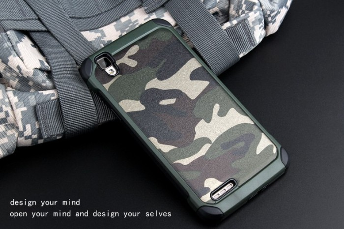 Army Case OPPO F1 Plus + R9 Hard Soft Thin Silikon Spigen Mirror Ipaky