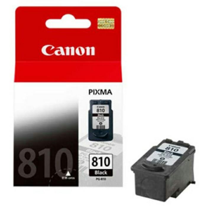 harga Canon cartridge 810 black/tinta printer canon 810 hitam Tokopedia.com