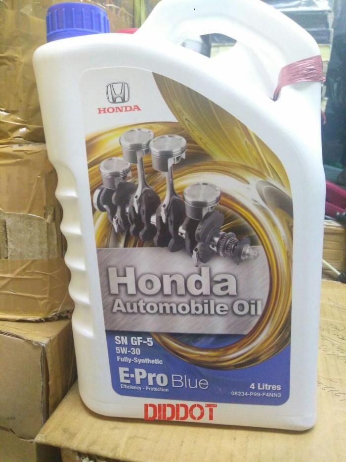 Jual Oli Mesin Honda E Pro Blue 5w 30 100 Genuine Honda Dki