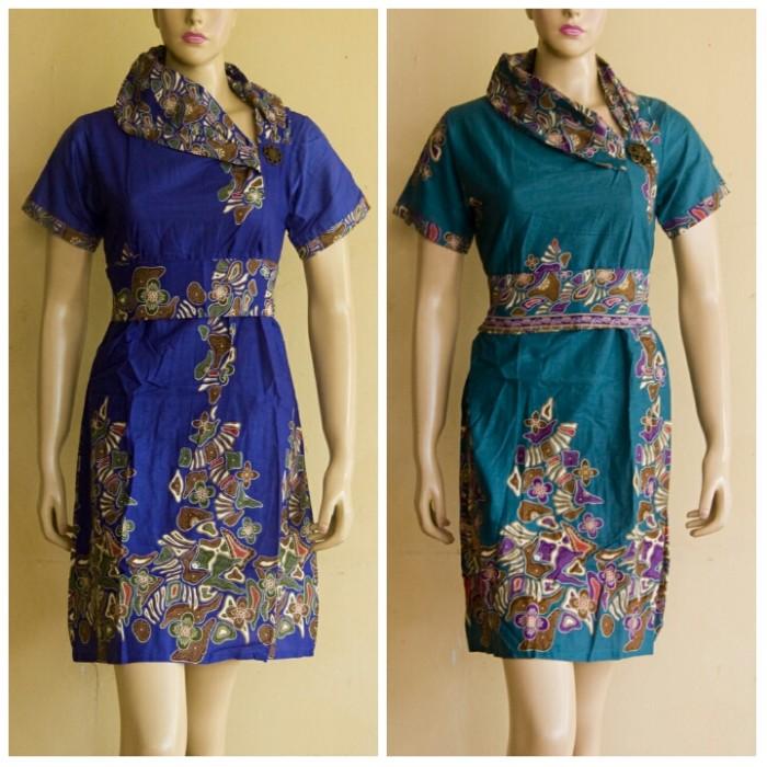 Jual baju batik wanita   dress batik wanita   batik kerja wanita ... 89ce56e6c4