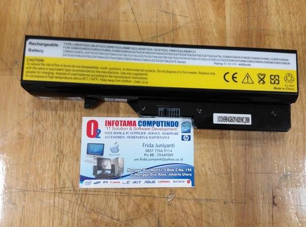 harga Compatible baterai batre battery lenovo g475 g560 g570 g575 v360 z565 Tokopedia.com