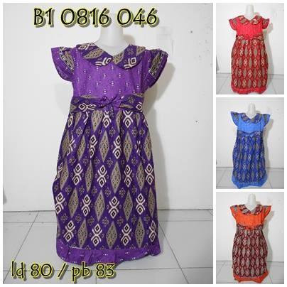 harga Dres batik anak tanggung sekdress terbaru gaun pesta anak cewe murah Tokopedia.com