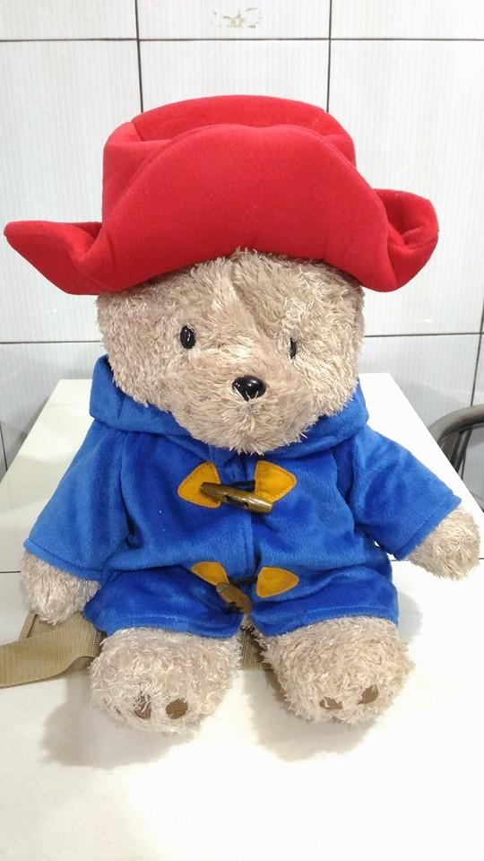 harga Tas ransel boneka paddington bear gede original Tokopedia.com