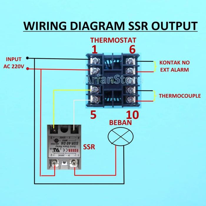 Sensational Jual Rex C100 Ssr Digital Thermostat Temperature Pid 400 Derajat Wiring Digital Resources Inklcompassionincorg