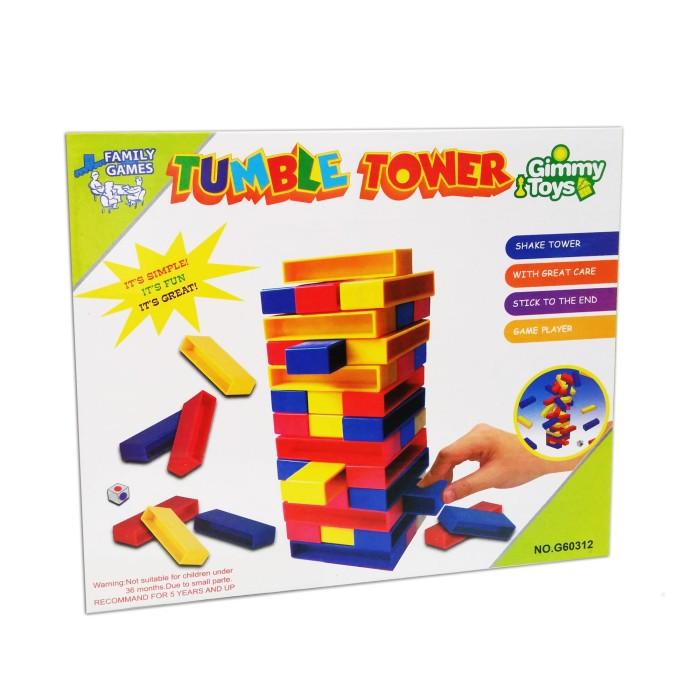 Tumble Tower / Mainan Anak Uno Stacko / Family Games / Edukatif