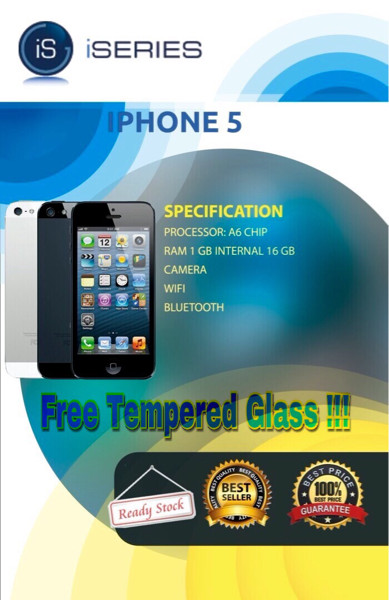 harga Apple iphone 5 - 5g 16 gb black/white garansi distributor 1 tahun Tokopedia.com