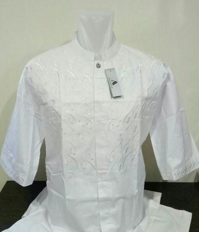 Baju Koko Putih Big Size