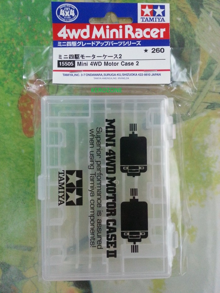 harga Tamiya 15505 - mini 4wd motor case 2 Tokopedia.com