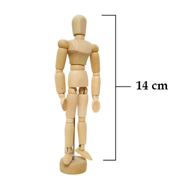 harga Manekin kayu 14cm (male) - wooden mannequin Tokopedia.com