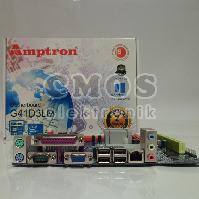 harga Motherboard amptron g41d3lm Tokopedia.com
