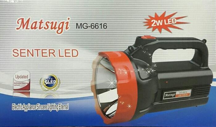 harga Lampu senter led matsugi mg-6616 (2w) Tokopedia.com