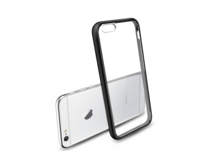 pretty nice 02595 acd51 Jual Spigen iPhone 6S/6 Plus Case Ultra Hybrid SGP11646 - Black - Cepat  Tepat Shop | Tokopedia