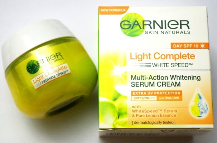 harga Garnier light complete white speed serum cream spf 19 - 50ml Tokopedia.com
