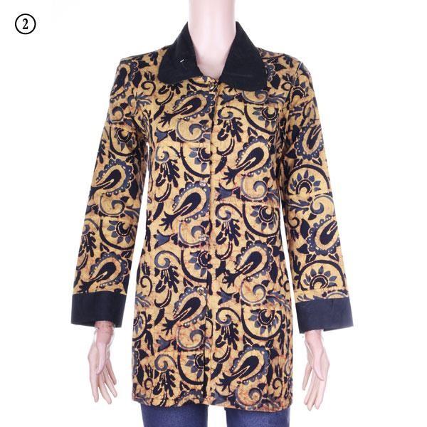 harga Blouse/blus batik evita 2 - batik cap - katun primisima Tokopedia.com