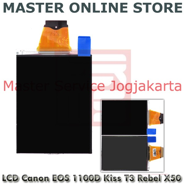 harga Lcd kamera dslr canon eos 1100d rebel t3 kiss x50 baru harga terbaru Tokopedia.com