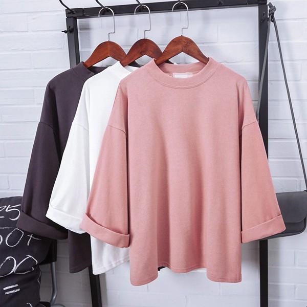 harga Kemeja kerah kupu kupu blouse polka dot sweater atasan wanita korea Tokopedia.com