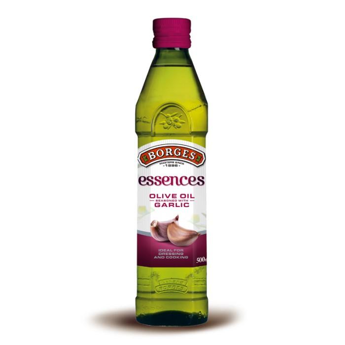 BORGES Pure Olive Oil Minyak Zaitun with Garlic [500 mL]