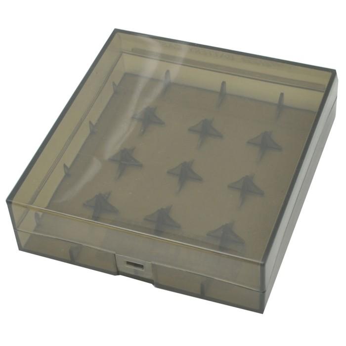 Foto Produk Efest Transparent Battery Case for 4x18650 - Black dari ChokiNotebook