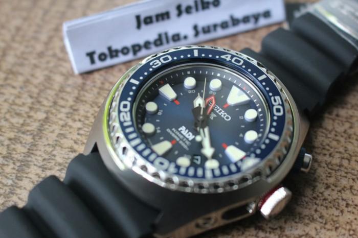 Jual Seiko Padi Edition SUN065P1 Blue Dial Rubber SUN065 Prospex Kinetik -  Kota Surabaya - Jam Seiko | Tokopedia