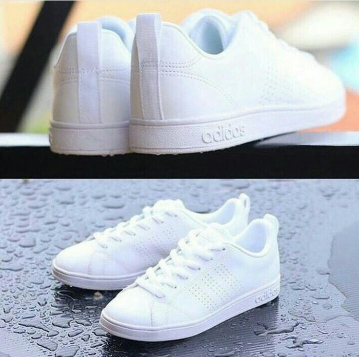 Jual Sepatu Adidas Neo Advantage Full white Quality Original 100 ... 15493a74c1