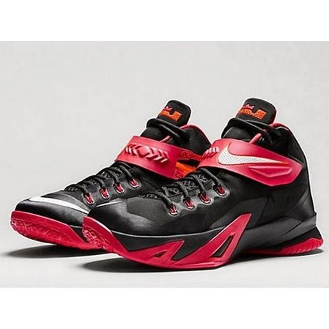 44af3db0b386 Jual NIKE ZOOM SOLDIER 8 LEBRON BLACK UNIVERSITY RED - Kab ...