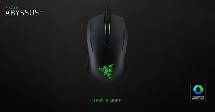 Foto Produk Razer Abyssus V2- Ambidextrous Gaming Mouse dari Razer Gaming Store