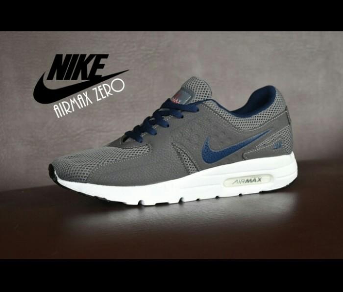 sports shoes 5ee4b d66d0 Jual SEPATU NIKE AIRMAX ZERO ABU GRADE ORI + SPORT PRIA + JOGGING - Kab.  Lamongan - Oneshop70 | Tokopedia