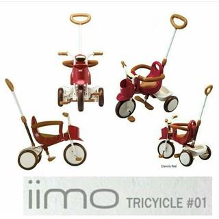 harga Sepeda iimo 1 - merah (sepeda anak - roda 3) Tokopedia.com