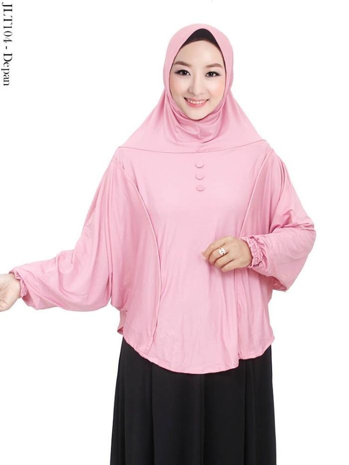 Jual Jilbab Tangan Langsung Ukuran Jumbo Bahan Jersey Motif Polos