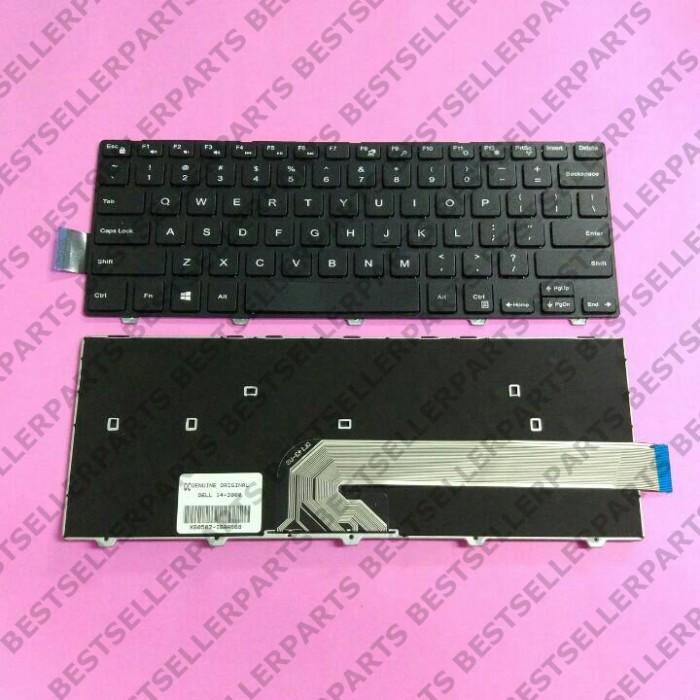 harga Original keyboard dell inspiron 14-3000 14-3441 14-3442 14-5442 Tokopedia.com