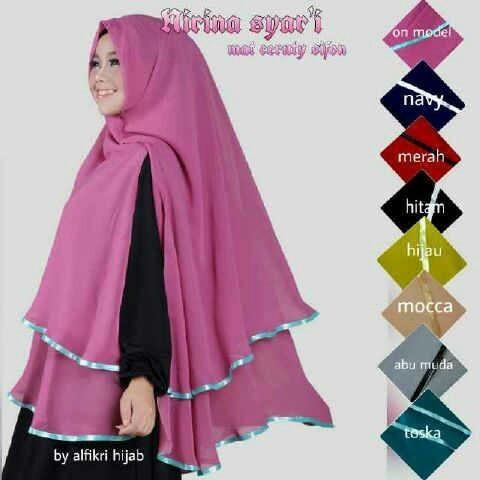 Jual Pasmina Murah Hijab Cantik Jilbab Kekinian Kota Bandung Busana Butik Murah Tokopedia