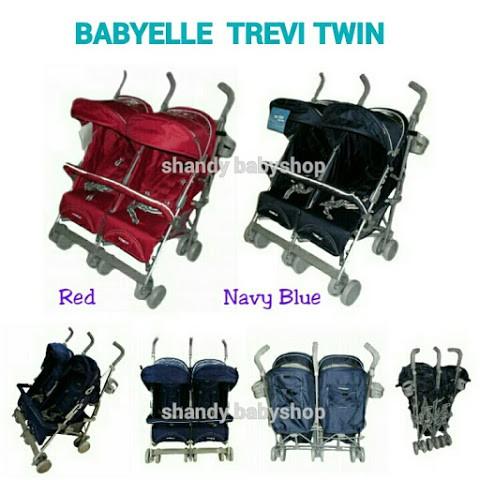 harga Stroller babyelle trevi twin / stroller kembar/ kereta dorong bayi Tokopedia.com