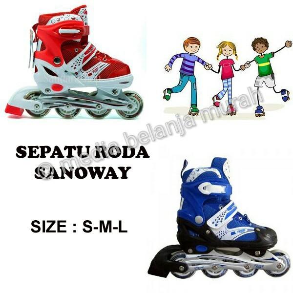 Tsh Sepatu Roda Inline Skate Anak Uk Medium Merah - Update Daftar ... f955528e70