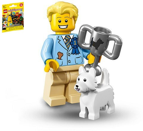 harga Dog show winner tintin (sealed) lego 71013 minifigure series 16 no 12 Tokopedia.com