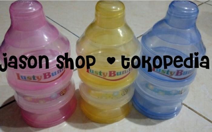 harga Tempat atau wadah susu bayi/kontainer lusty bunny susun 3 Tokopedia.com