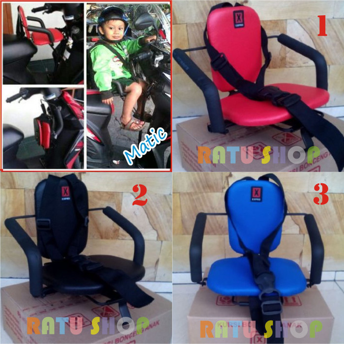 harga Kursi Bonceng / Boncengan Motor Anak Matic Polos Tokopedia.com