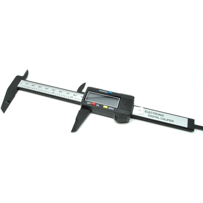 harga Jangka sorong digital vernier caliper with lcd screen black Tokopedia.com