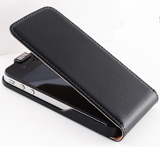 harga Luxury vertical magnetic flip leather case for iphone 5/5s Tokopedia.com