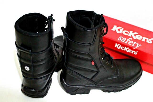 harga Sepatu kerja turing kickers boots steel safety original kulit asli Tokopedia.com