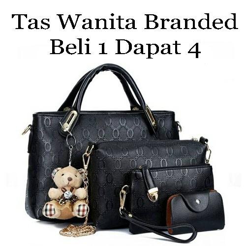 Tas Wanita Handbags Branded Bahan Kulit - Daftar Harga Terbaru dan ... fcde06691a