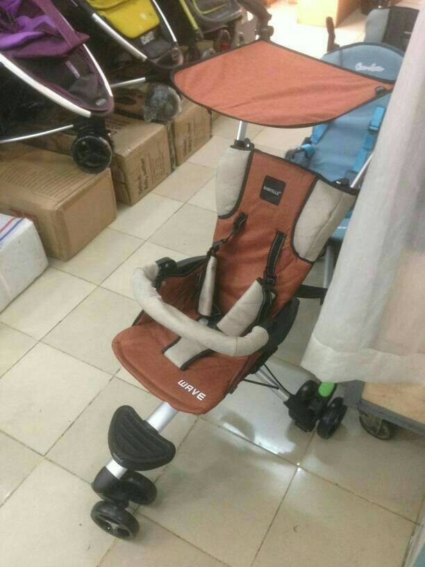 harga Babyelle wave s 300 kereta bayi baby stroller roda 3 ada tas Tokopedia.com
