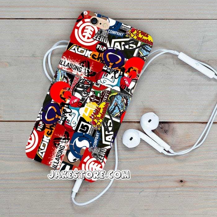 harga Volcom dc fallen skateboard art iphone case 5 5s 5c 6 6s plus samsung Tokopedia.com