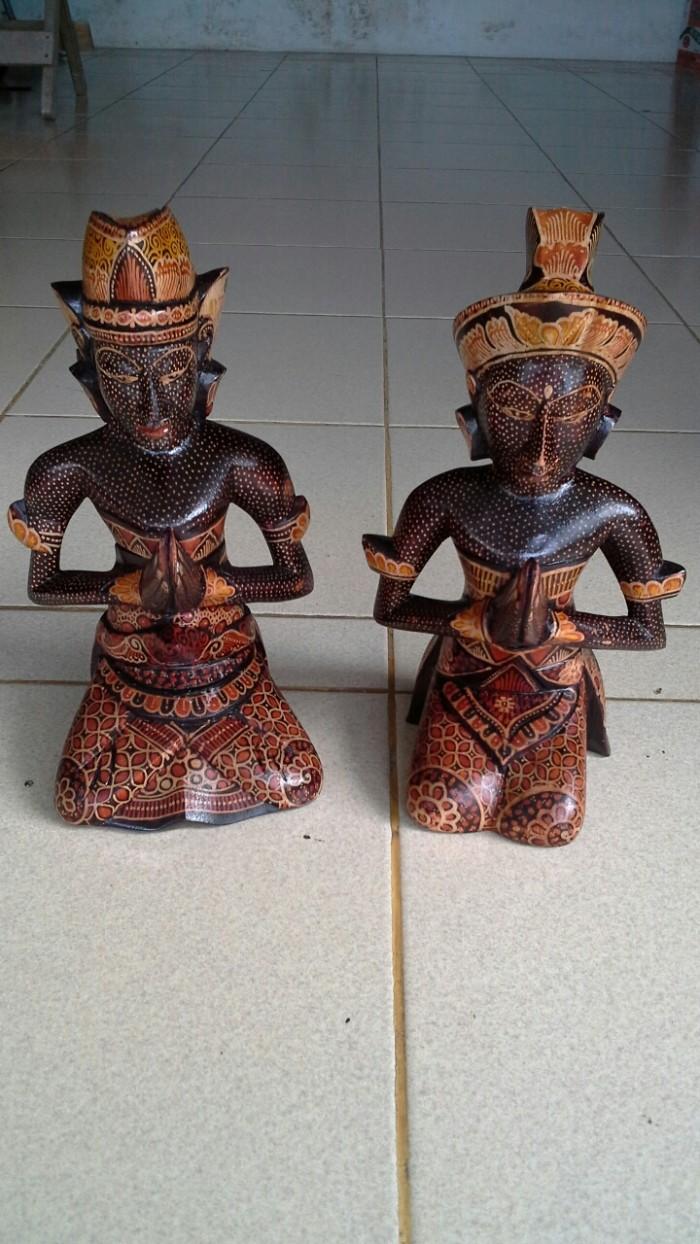 Jual Patung Pasangan Pengantin Cantik Cocok Buat Hiasan Kota Denpasar Mukena Bali Factory